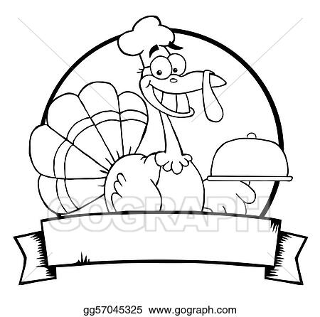 This is a picture of Turkey Outline Printable within worksheet