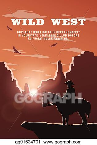 Train track in wild west background - Download Free Vectors, Clipart  Graphics & Vector Art