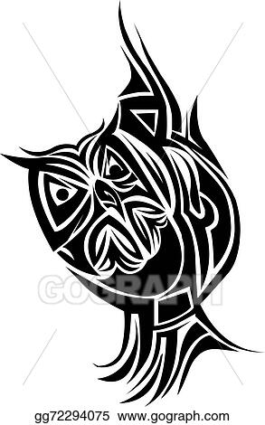 Vector Art Owl Tattoo Design Vintage Engraving Clipart Drawing