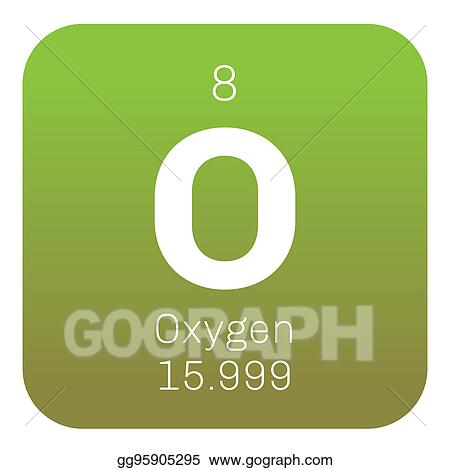 Drawing Oxygen Chemical Element Clipart Drawing Gg95905295 Gograph