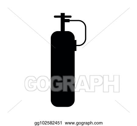 Eps Vector Oxygen Tank Stock Clipart Illustration Gg102582451