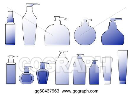 how to draw a shampoo bottle step by step