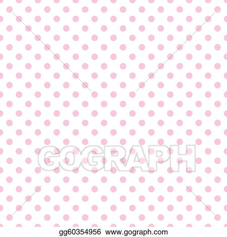 Stock illustration pale pink polka dots on white clip art stock illustration baby pink polkadots on white background clip art gg60354956 voltagebd Choice Image