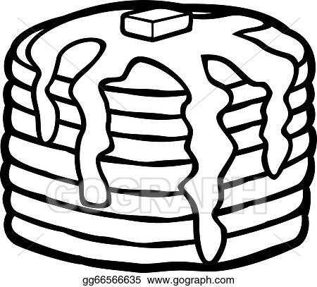 pancakes clip art royalty free gograph rh gograph com pancake clip art free pancake clip art breakfast