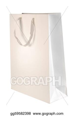 Stock Photo - Paper bag template. Stock Photography gg59582398 - GoGraph