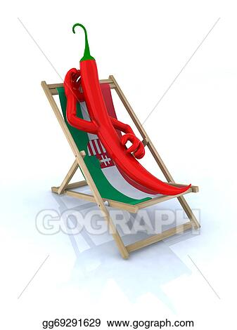 Awe Inspiring Clip Art Paprika Resting On A Beach Chair Stock Download Free Architecture Designs Scobabritishbridgeorg