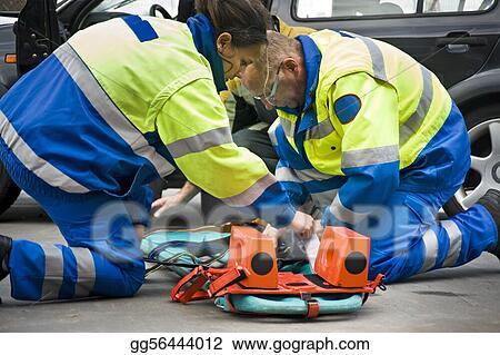 Picture - Paramedics  Stock Photos gg56444012 - GoGraph