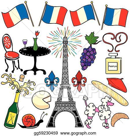vector art paris france clipart elements icons clipart Fleur De Lis Line Art May Crowning Clip Art