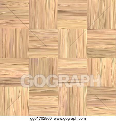 Stock Illustration Parquet Floor Seamless Texture Clipart