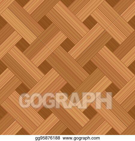 Parquet Pattern Basket Weave Flooring