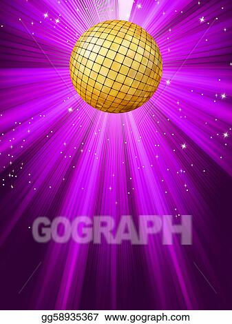 Party Lights Background EPS 8