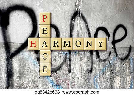Stock Illustrations Peace And Harmony Stock Clipart Gg63425693