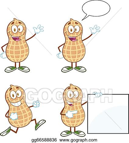 Vector Art Peanuts Characters Collection Clipart Drawing