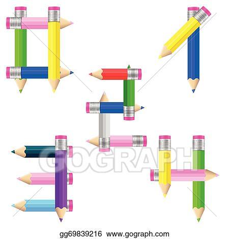Pencils clipart four, Pencils four Transparent FREE for download on  WebStockReview 2020