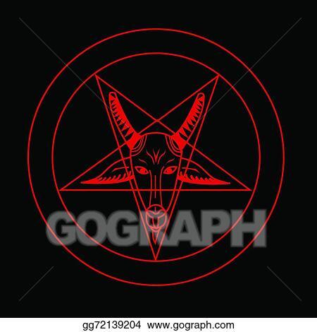 Vector Illustration Pentagram Symbol Stock Clip Art Gg72139204
