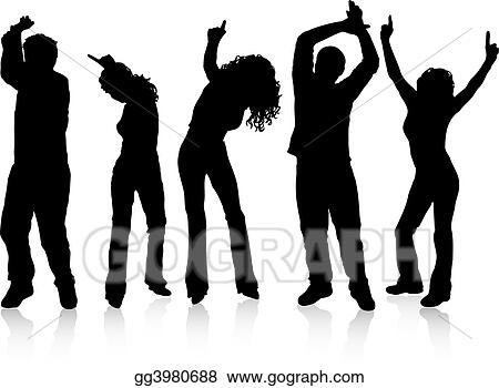 drawing people dancing clipart drawing gg3980688 gograph rh gograph com Two People Dancing Clip Art Two People Dancing Clip Art