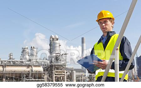 Stock Photo - Petrochemical supervisor  Stock Photos gg58379555