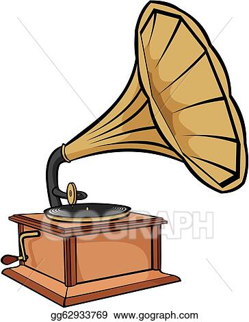 vector art phonograph vintage gramophone clipart drawing gg62933769 gograph gograph