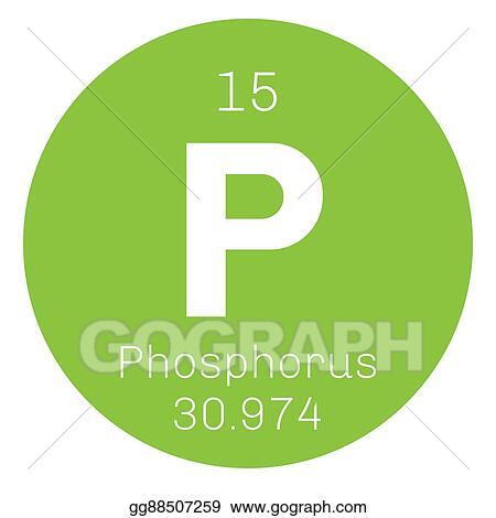 Vector Art Phosphorus Chemical Element Eps Clipart Gg88507259