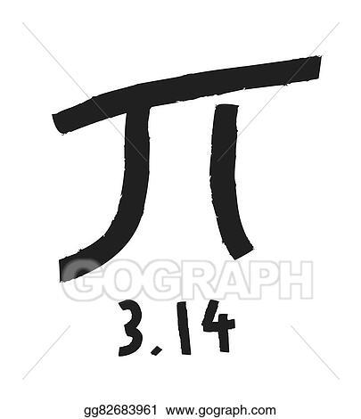 Vector Stock Pi Symbol With The Sum Formula Stock Clip Art