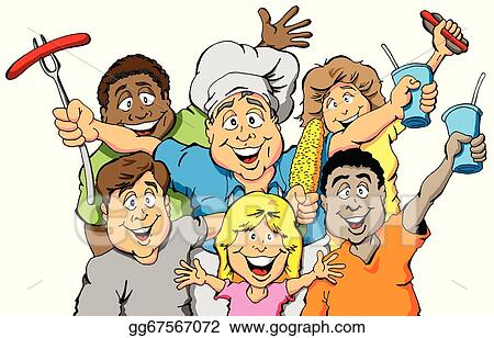 Eps vector picnic party invitation stock clipart illustration picnic party invitation stopboris Choice Image
