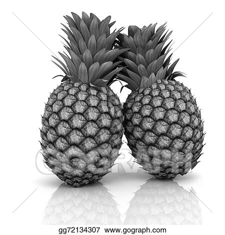 drawings pineapples stock illustration gg72134307 gograph