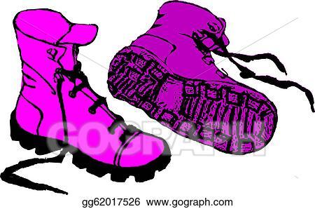 vector art pink emo boots clipart drawing gg62017526 gograph rh gograph com elmo clip art birthday elmo clip art free good quality