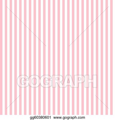 Stock Illustration Pink White Stripes Clipart Drawing