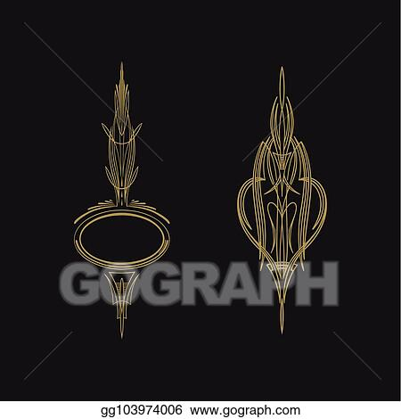 Vector Art Pinstriping Vehicle Graphic Decorative Vector Vinyl Decal Clipart Drawing Gg103974006 Gograph