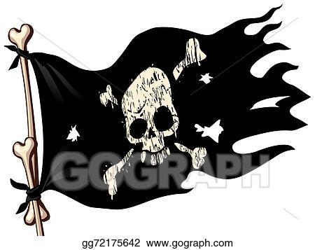 vector stock pirate flag stock clip art gg72175642 gograph