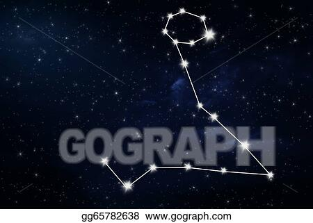 Clipart - Pisces horoscope star sign  Stock Illustration gg65782638