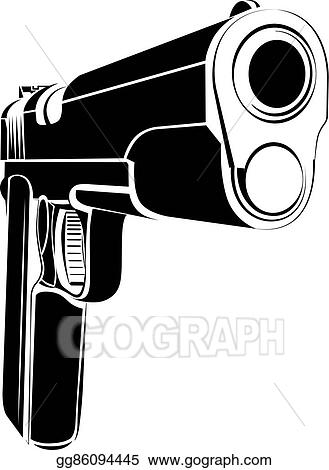 vector art pistol 1911 gun fire 45 caliber clipart drawing gg86094445 gograph https www gograph com clipart license summary gg86094445