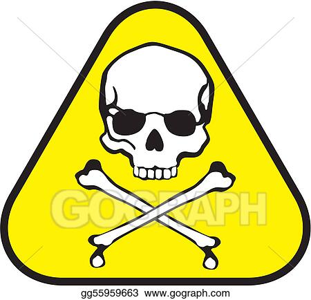 Vector Art Poison Label Clipart Drawing Gg55959663 Gograph