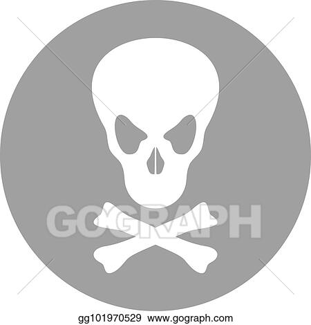 Vector Art Poison Symbol Clipart Drawing Gg101970529 Gograph