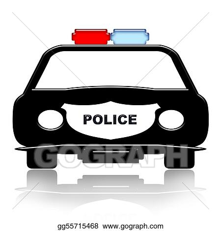 Drawing Police Car Clipart Drawing Gg55715468 Gograph