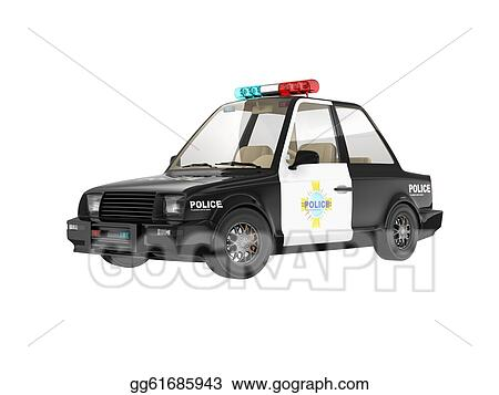 Drawing Police Car Clipart Drawing Gg61685943 Gograph
