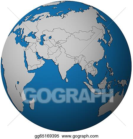 Stock Illustration - Political map of asia on globe map ... on globe map world, globe map italy, globe map austria, globe map philippines, globe map india, globe map norway, globe map asia, globe map europe, globe map states, globe map art, globe map africa, globe map finland,
