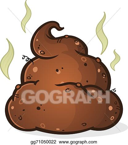 vector art poop pile cartoon eps clipart gg71050022 gograph rh gograph com clip art poop alphabet clip art poop alphabet