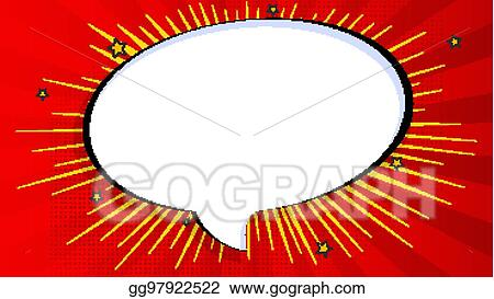 EPS Vector - Pop art splash background, explosion in comics book ...