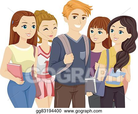 Playboy clip art royalty free gograph casino playboy bunny theme elements popular teen guy surrounded by girls voltagebd Images