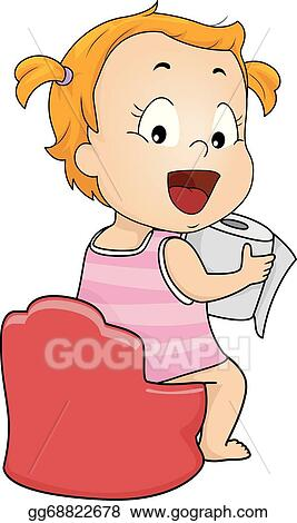 vector art potty training eps clipart gg68822678 gograph rh gograph com  potty training clipart