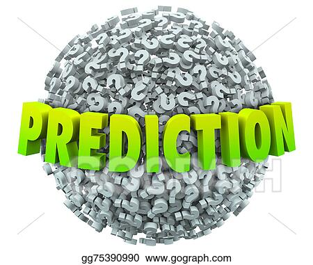 Stock Illustration Prediction Question Mark Sphere Prophesy Fate