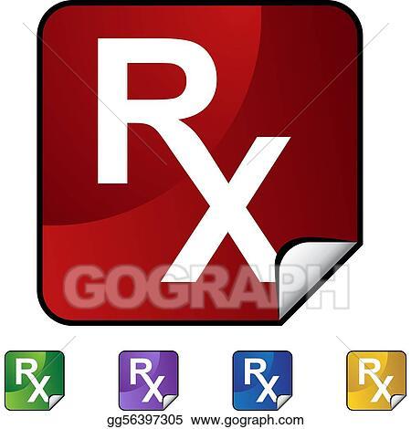 Vector Stock Prescription Symbol Clipart Illustration Gg56397305