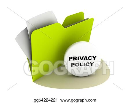 Privacy Policy Clip Art >> Stock Illustration Privacy Policy Button Clipart