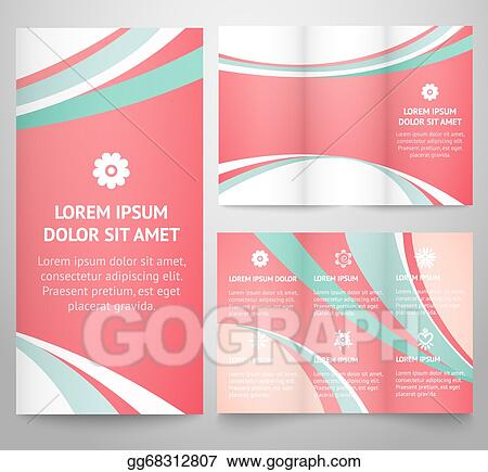 Vector clipart professional three fold business flyer template professional three fold business flyer template accmission Image collections