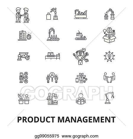 Eps Illustration Project Management Plan Consulting Gantt Chart