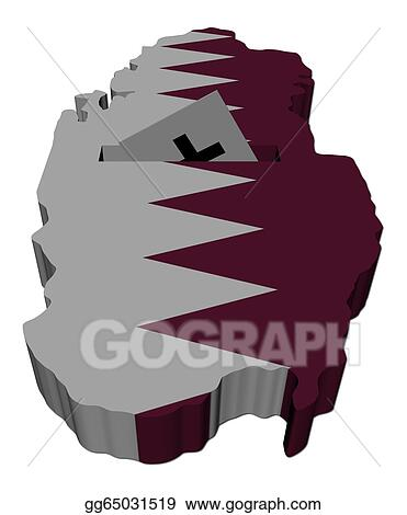 Drawings Qatar Election Map With Ballot Paper Illustration - Sweden election map