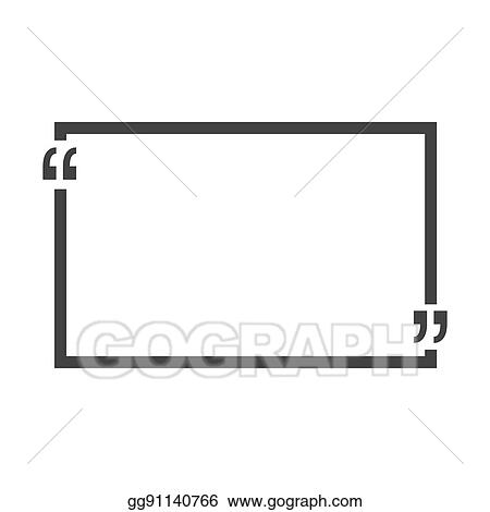 eps illustration quote bubble blank templates empty business card