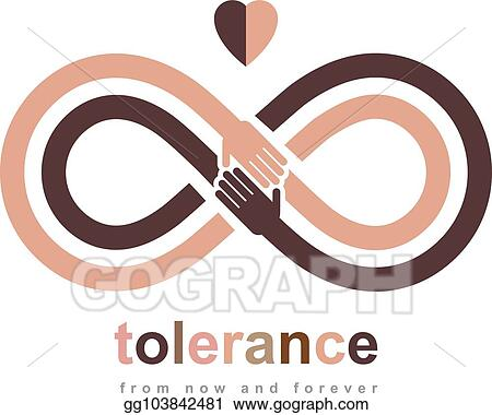 Eps Vector Racial Tolerance Conceptual Symbol Martin Luther King