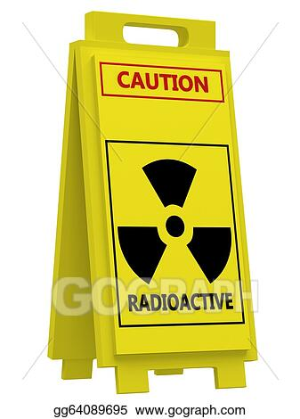 Stock Illustration Radiation Hazard Symbol Sign Stock Art